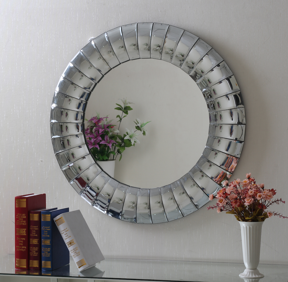 Wall mirror 16037 citak deco for Miroir 80x80