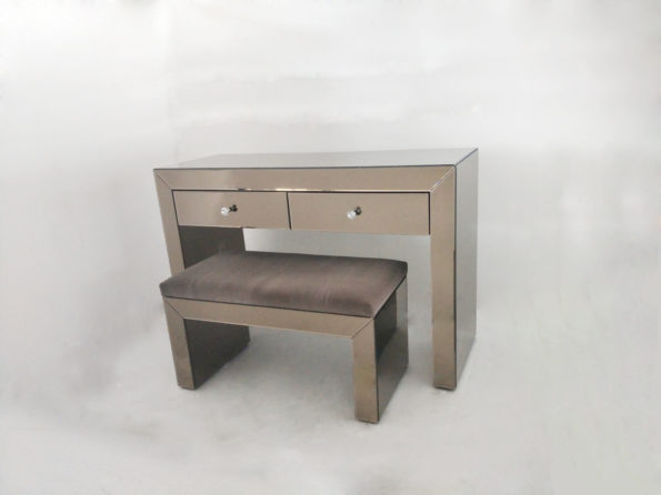 MAKE UP TABLE & CHAIR   17251 SEPIA COLOR