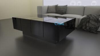AM002 COFFEE TABLE SEPIA 70X130X45CM : CITAK DECO