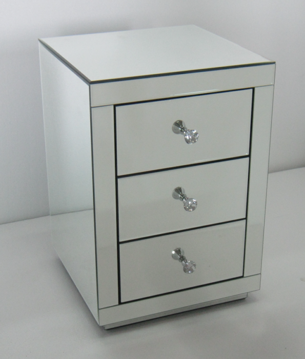 Night stand 14066-2 clear mirror
